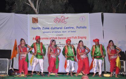 NZCC – 23 सितंबर, 2016 को फिरोजशाह, जिला फिरोजपुर (पंजाब) में सांस्कृतिक कार्यक्रम।