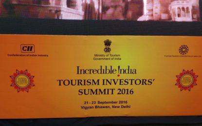 विज्ञान भवन में पर्यटन इन्वेस्टर्स समिट के उद्घाटन समारोह और अशोक होटल नई दिल्ली में सांस्कृतिक कार्यक्रम।
