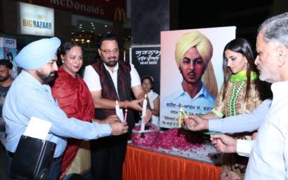 NZCC 28 सितंबर, 2016 को पटियाला में S.Bhagat सिंह की जयंती मनाई