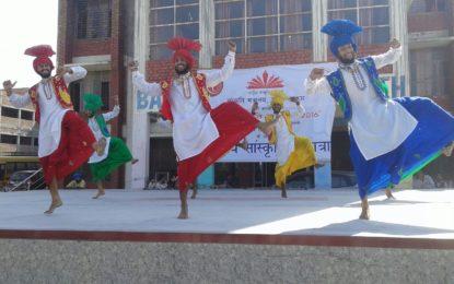 राष्ट्रीय संस्कृति महोत्सव 2016 आईजीएनसीए पर, NZCC, पटियाला द्वारा नई दिल्ली के दौरान गोहाना, बाल भारती स्कूल और रोहतक में परिवर्तन Rashriya स्कूल में जिला सोनीपत में 20 वीं 2016 अक्टूबर को आउटरीच कार्यक्रम