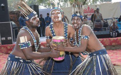 राष्ट्रीय संस्कृति Mahotsav- 2016 के दौरान Soyepuri पर आउटरीच कार्यक्रम, वाराणसी NZCC द्वारा की झलक