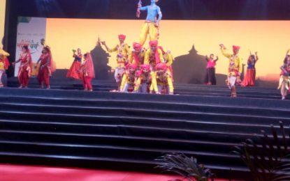 'भारत पर्व 2017' के 5 वें दिन के दौरान NZCC, पटियाला द्वारा नृत्य प्रदर्शन