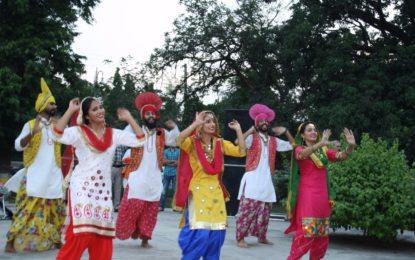 बच्चों के पार्क, बारदार गार्डन, पटियाला में 71 वें स्वतंत्रता दिवस के समारोह के दौरान एनजेडसीसी द्वारा सांस्कृतिक प्रस्तुति