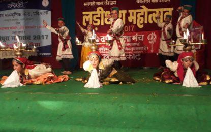 लारिधुरा महोत्सव -2017 के दौरान एनजेडसीसी के कलाकारों द्वारा सांस्कृतिक प्रस्तुतीकरण