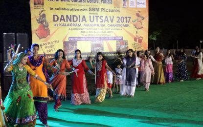 दिनिया उत्सव के दिन -4 का कुछ झलक- 2017 को एनजीएससीसी द्वारा 21 से 30 सितंबर, 2017 तक कलगाम, मनीमाराज, चंडीगढ़ में आयोजित किया जा रहा है।