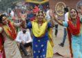 9 ग्राम चंडीगढ़ राष्ट्रीय कला मेले का दिन -10 (11-11-2017) कलाग्राम, चंडीगढ़ में एनजेडसीसी द्वारा आयोजित किया गया