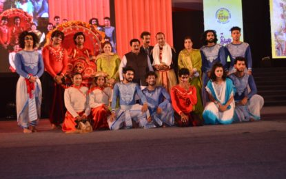 नृत्य नाटक 'खेल का खेल' सुश्री नलिनी शर्मा और शिवमानी और रिम्पा शिव समूह द्वारा संगीत प्रस्तुति