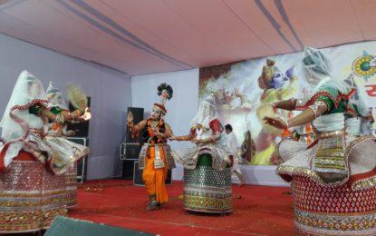उत्तर क्षेत्र सांस्कृतिक केंद्र पटियाला द्वारा 28/11/2017 को पेहवा में 25 से 30 नवंबर, 2017 तक अंतरराष्ट्रीय गीता महोत्सव-2017 की यात्रा के कार्यक्रम के रूप में मणिपुर रास की प्रस्तुति