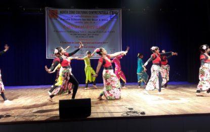 कालिदासऑडिटोरियम, विरसा विहार केन्देर, पटियाला में 29/11/2017 को एनजेडसीसी द्वारा सांस्कृतिक शाम