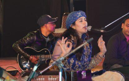 उत्तरी पंजाब सांस्कृतिक केंद्र पटियाला द्वारा आयोजित प्रसिद्ध पंजाबी गायक डॉ। ममता जोशी द्वारा भक्ति गायन की प्रस्तुति