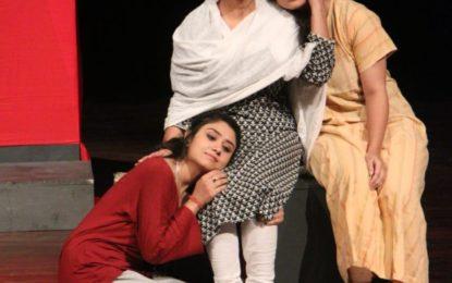 चंडीगढ़ में 13 जून से 15, 2018 तक एनजेडसीसी द्वारा आयोजित जम्मू-कश्मीर रंगमंच समारोह का अंतिम दिन।