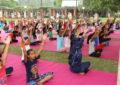 21 जून, 2018 को एनजेडसीसी द्वारा मनाया गया चौथा अंतर्राष्ट्रीय योग दिवस।