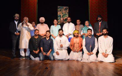 एनजेसीसी, पटियाला द्वारा आयोजित मुंशी प्रेम चंद थिएटर फेस्टिवल का समापन दिवस (08/09/18)