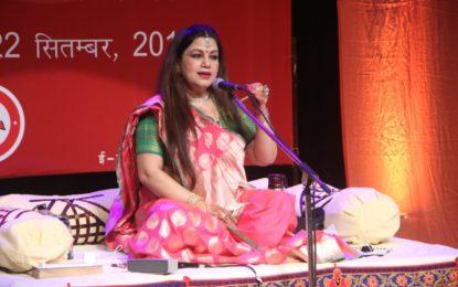 चंडीगढ़ में एनजेडसीसी द्वारा आयोजित लोक और अर्द्ध शास्त्रीय संगीत समारोह का दिन 3 आयोजित किया जा रहा है
