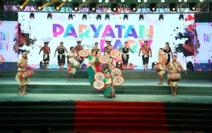 राजपथ लॉन्स नई दिल्ली में आयोजित पर्यातन पार्व का दिन 9