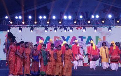 राजपथ लॉन्स, नई दिल्ली में आयोजित पर्यातन पार्व का दिन -10